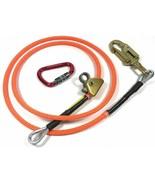 "Climb Right 1/2"" x 12' Steel Core Lanyard Kit Flipline 75223 Swivel Snap - $139.99"