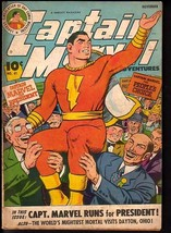 CAPTAIN MARVEL ADVENTURES #41-GREAT ISSUE! VG- - $98.36