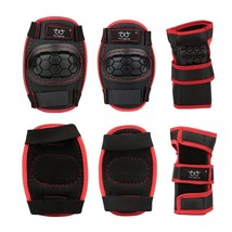 Sports Protective Gear Safety Pad Safeguard Knee Elbow Wrist Support Pad... - $16.27
