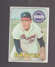 1969 Topps # 355 Phil Niekro Atlanta Braves EXCELLENT - MINT - $7.00