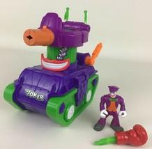 DC Comics Super Friends Joker Tank Imaginext Fires A Punch Figure 2011 M... - $39.55