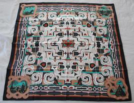 Hermes scarf _ Espirit Ainou - New with box and ribbon - $356.40