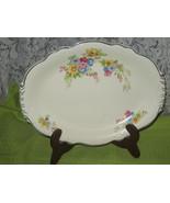 Homer Laughlin Virginia Rose Serving Platter - $16.00