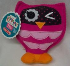 "Lalaloopsy Pets Bea Spells Alot Pink Owl 6"" Plush Stuffed Doll Toy New - $18.32"