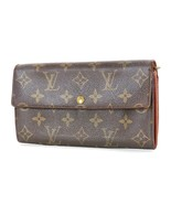 Authentic LOUIS VUITTON Sarah Long Wallet Monogram Zippered Coin Purse #... - $215.10