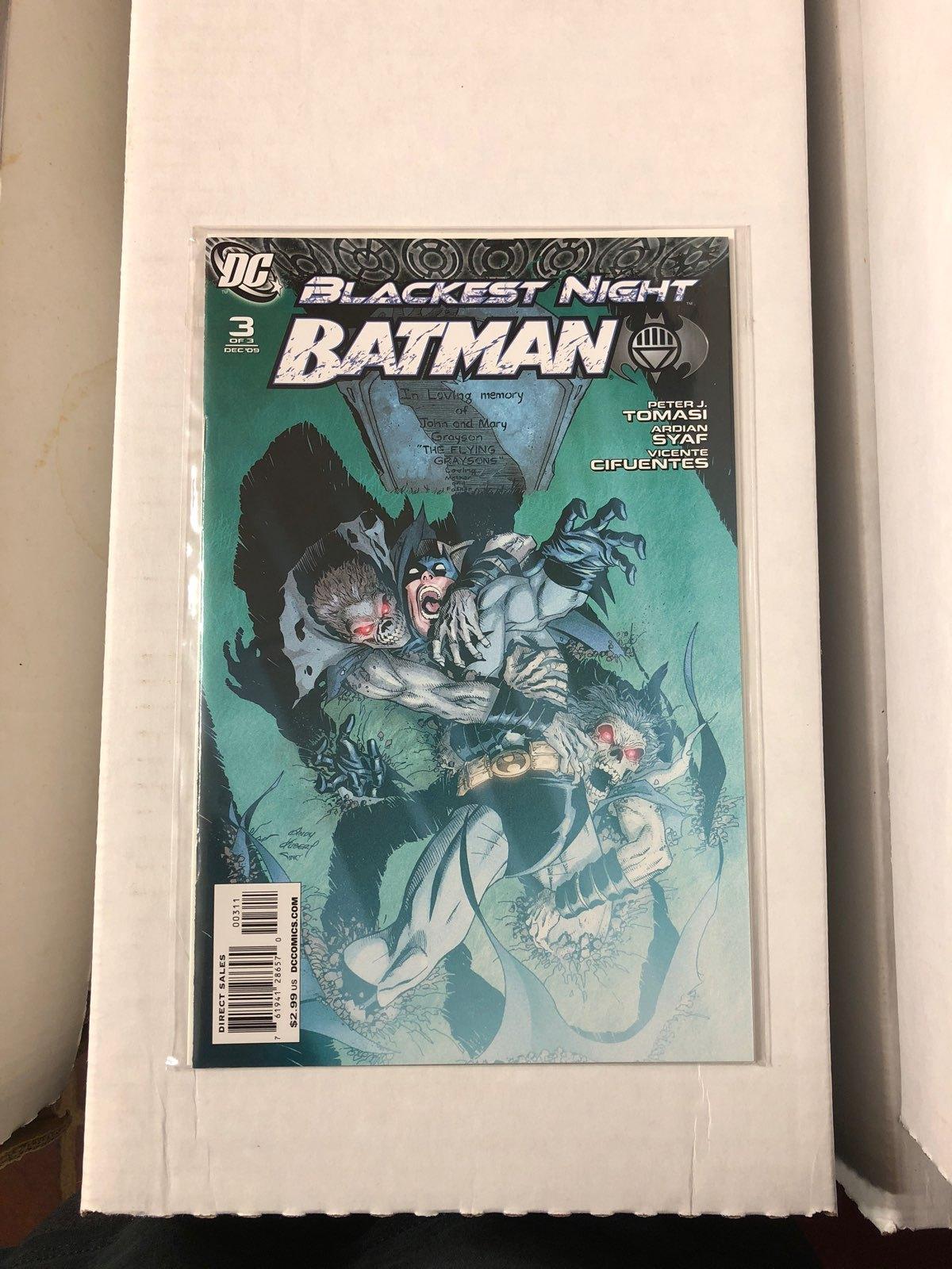 Blackest Night Batman #3