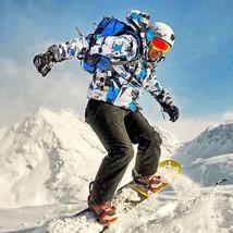 Men Winter Ski Suit Male Snow Pants sets Windproof Waterproof Skiing Ski... - $119.75