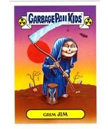 "2017 Garbage Pail Kids Adam-Geddon ""GRIM JIM"" 7a Classic Sticker Insert - $1.00"