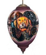 Ne'Qwa Art, Dogs,  by Robert Schmidt, Limited Edition, New in Box - $69.00