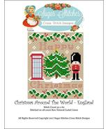 England: Christmas Around the World series cross stitch chart Sugar Stit... - $6.00