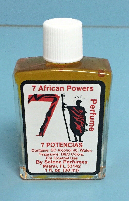 Spiritual Oil & Perfume: Abre Camino, Ruda, San Lazaro, Balsamo and 7 Potencias.