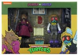 New Sealed Neca Tmnt Splinter Vs Baxter Action Figure Set Target Exclusive - $98.99