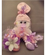 Pink Purple Girl Mini Sock Corsage and Baby Gif... - $10.95