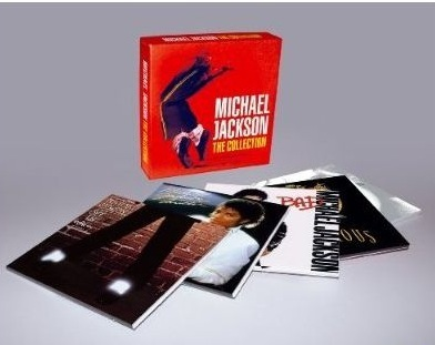 michael jackson the collection 5 cd box set sealed cds. Black Bedroom Furniture Sets. Home Design Ideas