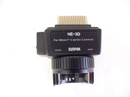 Sunpak NE-3D Dedicated Nikon F3 Flash Module - $17.81