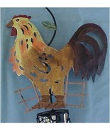 Wind Chimes, Metal, Rustic Rooster  - $15.00