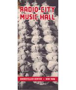 Radio City Music Hall Rockefeller Center New York Brochure  - $10.95