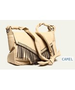 NWT Mental Chain Tassel women's Shoulder Bag / Camel - $28.00