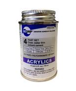 Weld-On 4 Acrylic Adhesive - 4 Oz - $13.95