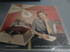 "STEN-O-DISC: Actual Business Letters LP (a ""dictation"" practice record) - $7.99"