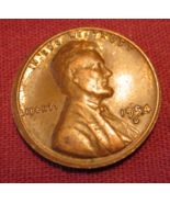 1954 D Lincoln Wheat Cent Mint Error Off Strike Warp - $4.27 CAD
