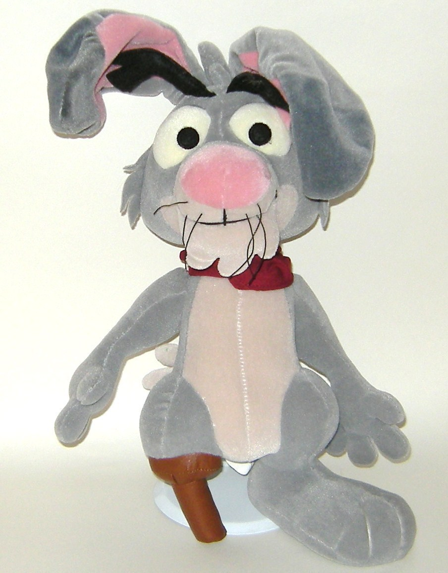 1/2 Price! Disney Lucky Jack Rabbit Plush Home on the Range