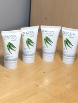 LOT OF 4~ DEAD SEA ESSENTIALS BY AHAVA ALOE VERA BODY LOTION 1.3 OZ - $21.77