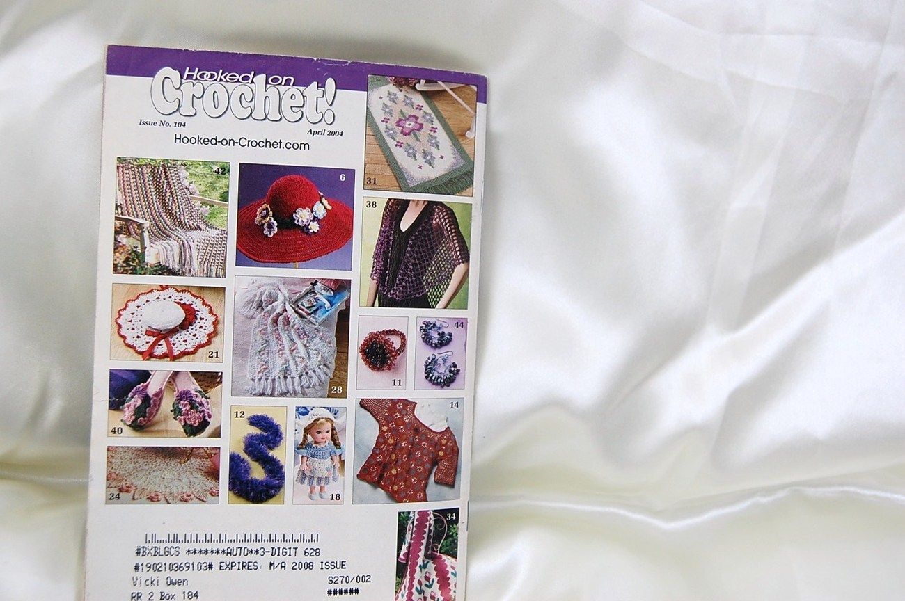 Hooked on Crochet Magazine April 2004