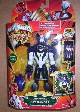 Power Rangers Jungle Fury NEW Deluxe ANIMORPHIN BAT Ranger Master Actioin Figure