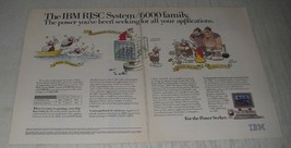 1991 IBM RISC System/6000 Family computers Ad - The Power - $14.99