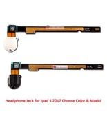 Headphone Audio Jack Flex Cable Port Replacement Part for Ipad 5 2017 5t... - $19.35