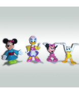 Walt Disney Set of (4) Epcot 1993 Plastic Figures * Minnie DONALD Daisy ... - $4.88