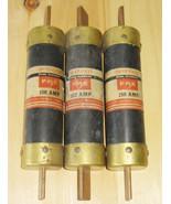FPE ECON 150 AMP 600 VOLT DUAL ELEMENT CLASS L FUSES (LOT OF 3/ECS-150A)... - $199.99