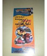 2011 Nascar Elliott Sadler Autographed Daytona 500 handout - $9.99