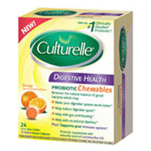 Culturelle Digestive Health Chewable, 24 Chewables by i-Health, Inc - $22.07