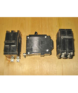 COMMANDER QBH 15 AMP, 2 POLE, 240 VOLT CIRCUIT BREAKER (SYLVANIA or CEB)... - $29.99