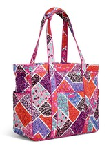 Vera Bradley Signature Cotton Get Carried Away Tote, Modern Medley