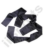 BLACK Chinese Kung Fu Pa Kua Wing Chun Tai Chi Martial Arts Satin Sash B... - $9.50