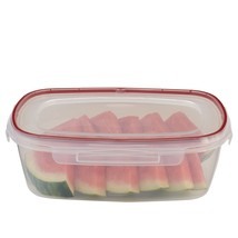 Rubbermaid Lock-Its Rectangular Food Storage Container with Easy Find Li... - $13.87