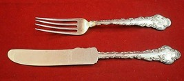 Antique Sterling Silver Junior Set w/ Knife and Fork by HH Curtis Co (#2... - $85.00