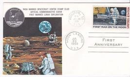 APOLLO 11 1ST. ANNIVERSARY HOUSTON,TX 7/20/1970 MANNED SPACEFLIGHT CENTE... - $2.37