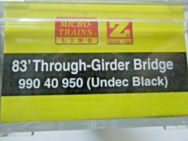 Micro-Trains Micro-Track # 99040950 Girder Bridge  (Black)   Z-Scale image 3