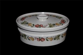 """Vintage 2-Pc Wedgwood QUINCE Fruit Covered Oval 10-3/4"""" Casserole Dish U... - €43,49 EUR"""