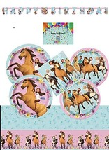 Spirit Riding Free Party Supplies and Decorations Kit for 16 - Lunch and... - $41.24