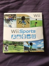 Wii Sports COMPLETE w/ Sleeve & Manual TESTED Nintendo Wii 2006 B1 - $18.00