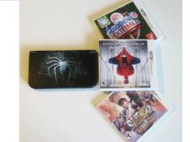 Nintendo New 3DS XL Black w Resident Evil 3d & More !! - $354.99