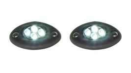 (2) LED Accent Lights 4 Amber LED Surface Mount - Innovative Lighting NE... - $8.91