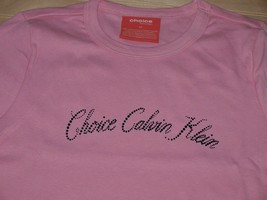 Calvin Klein Choice Ribbed T shirt Pink NWOT - $12.99