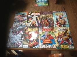 Mighty Avengers  lot of 7 from Various Era's  Marvel  Comics - $7.91