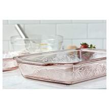 Anchor Hocking 4-Piece Laurel Embossed Rosewater Bake and Serve Set - $43.46